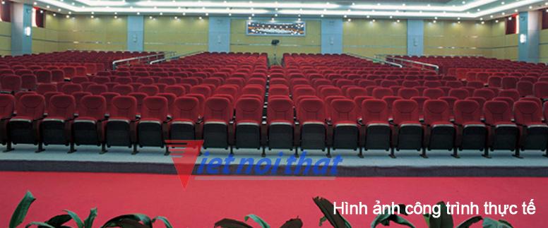 Hình ảnh công trình lắp đặt ghế Hội trường TC01