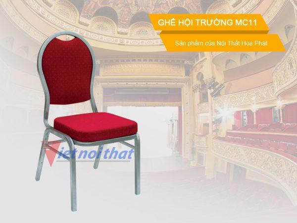 Ghế hội trường Hòa Phát MC11